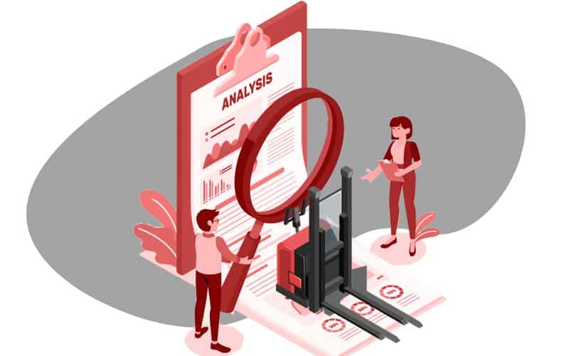 Analiza datos para optimizar costos  rendimiento de tus operadores y montacargas.